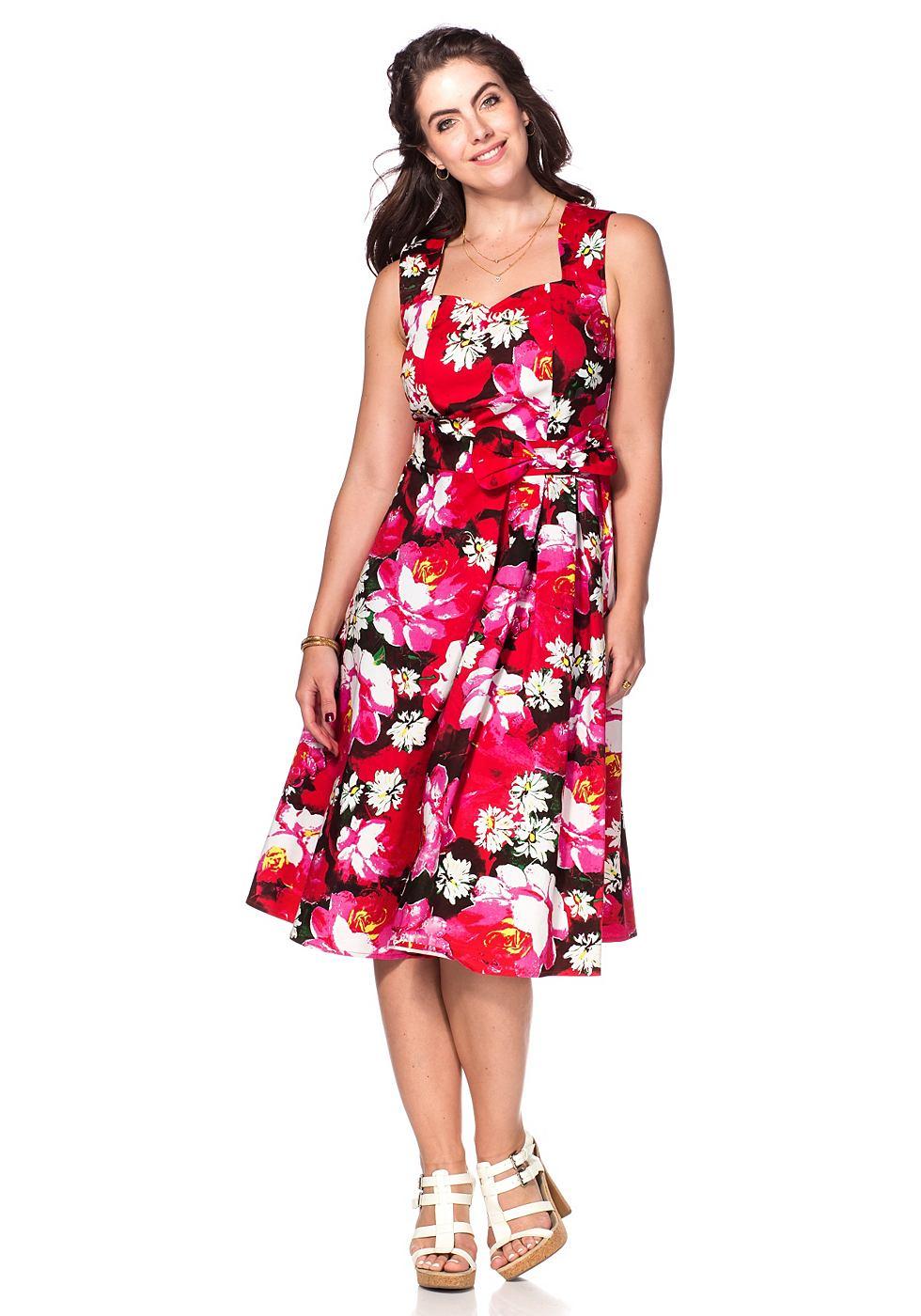 NU 21% KORTING: Joe Browns elegante jurk multicolor