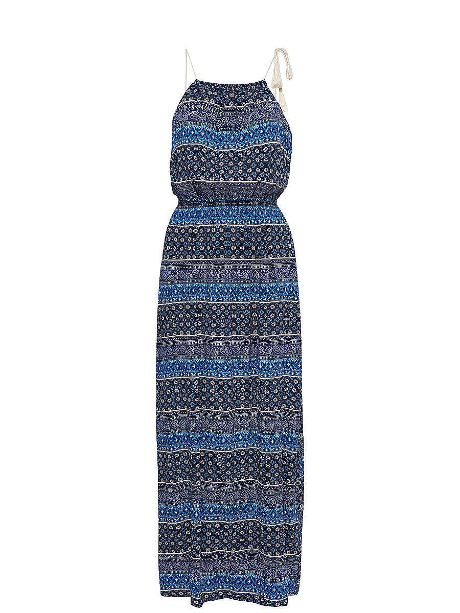 ONLY Mouwloze Maxi jurk multicolor