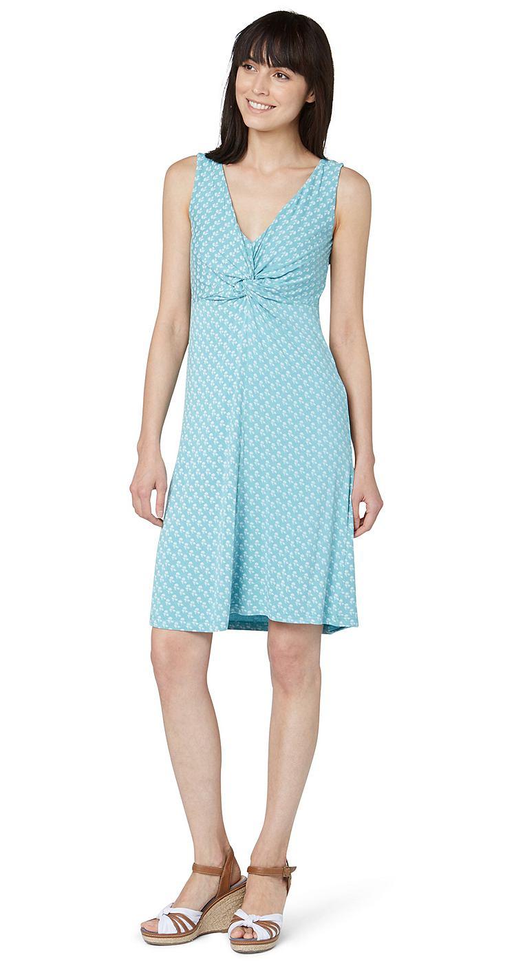 Tom Tailor jurk »jersey summer dress« groen