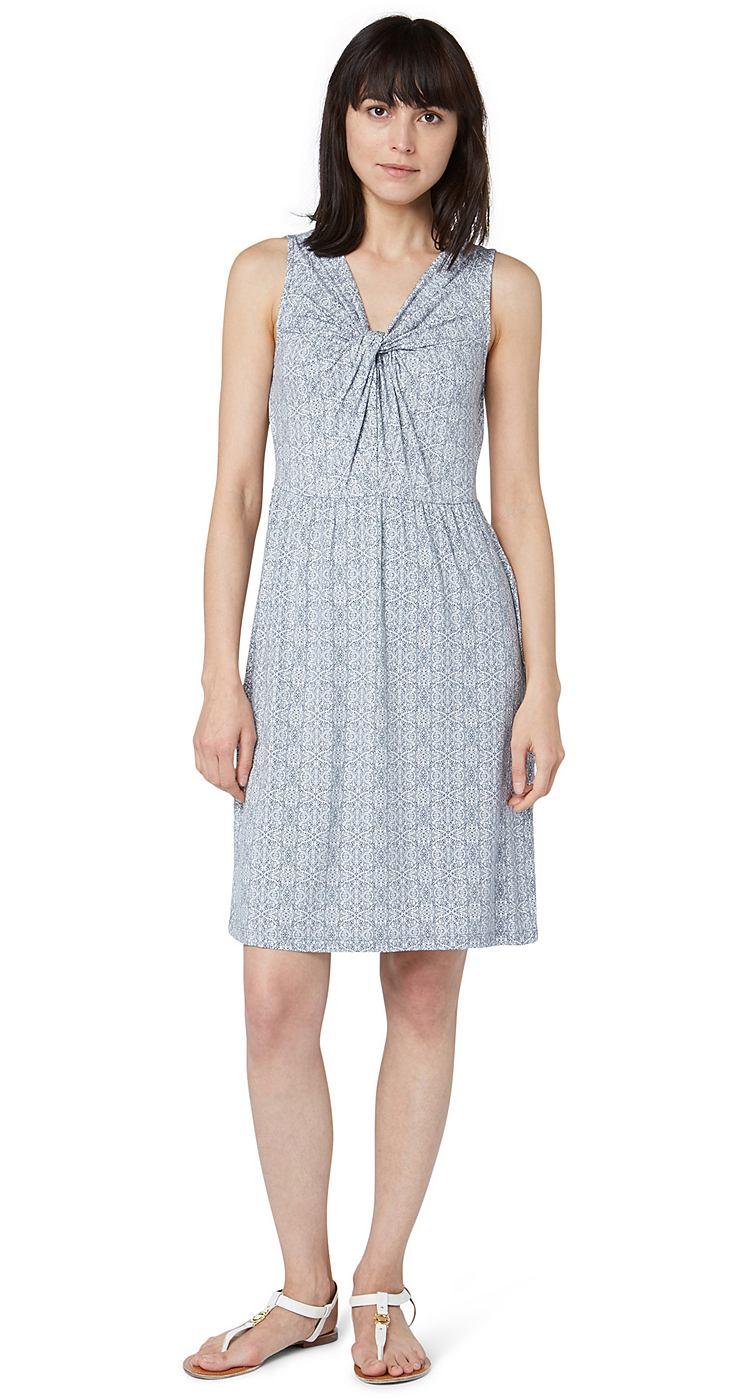 Tom Tailor jurk »summer dress« blauw