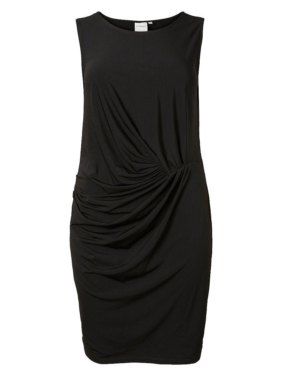 Junarose jersey jurk zwart
