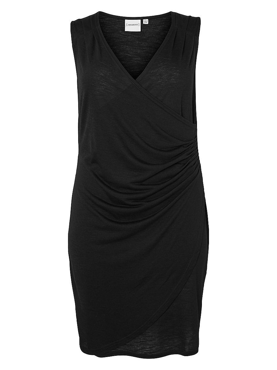Junarose Fijne jurk zwart