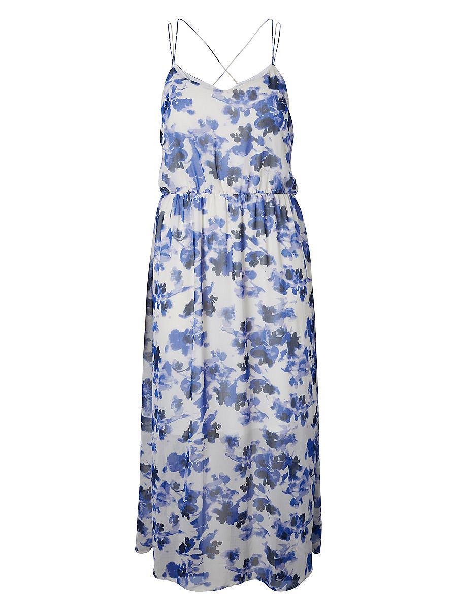 Junarose Maxi jurk blauw