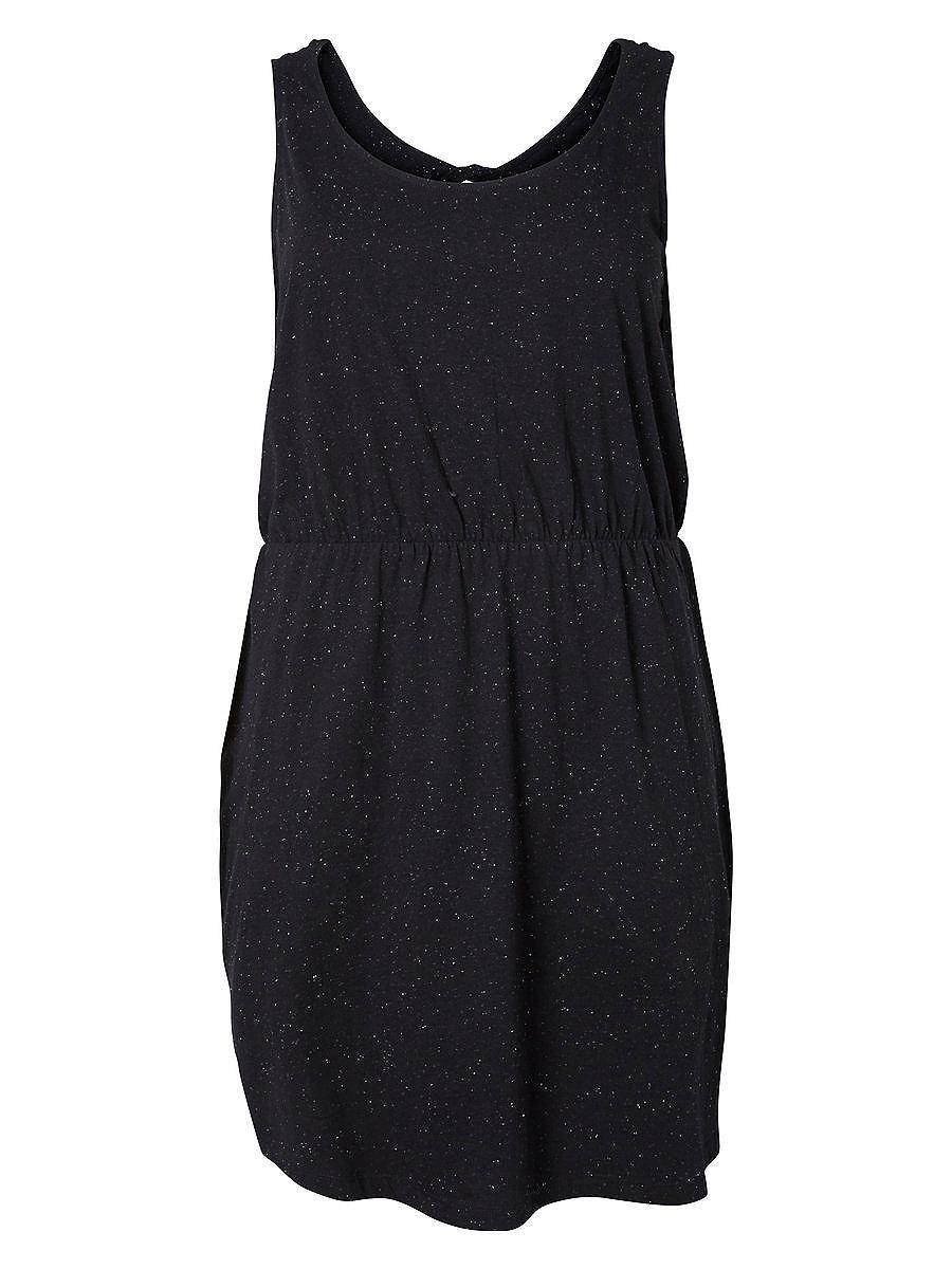 Junarose Mouwloze jurk zwart