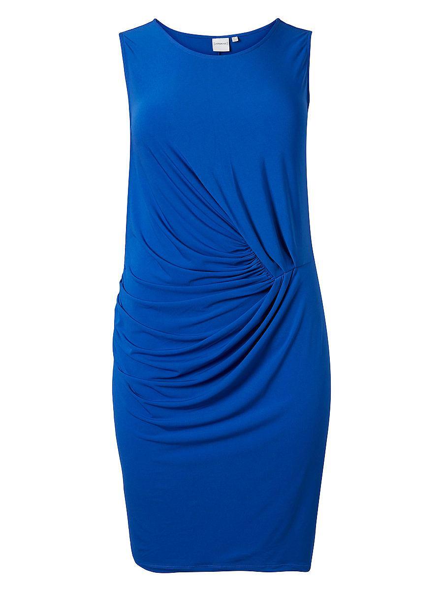 Junarose jersey jurk blauw