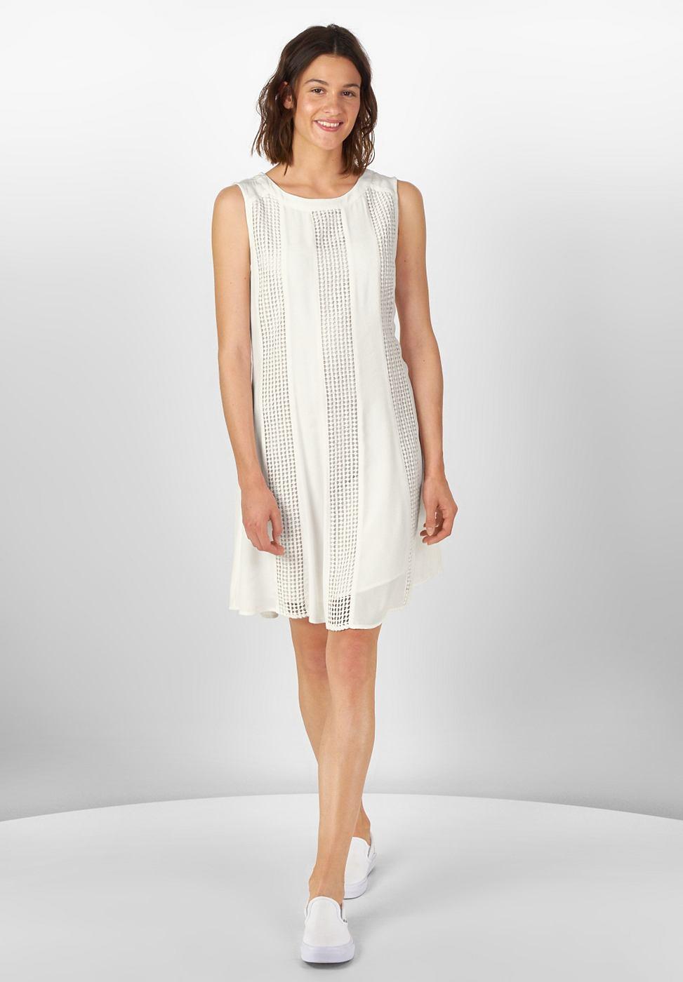 Street One Zwierige jurk Josephine wit