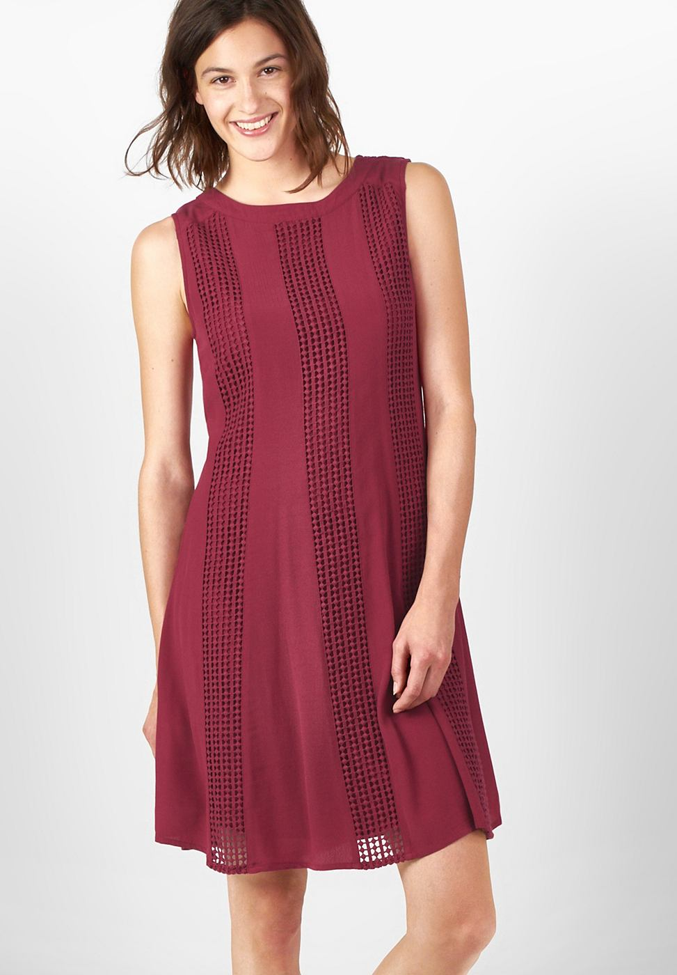 Street One Zwierige jurk Josephine rood
