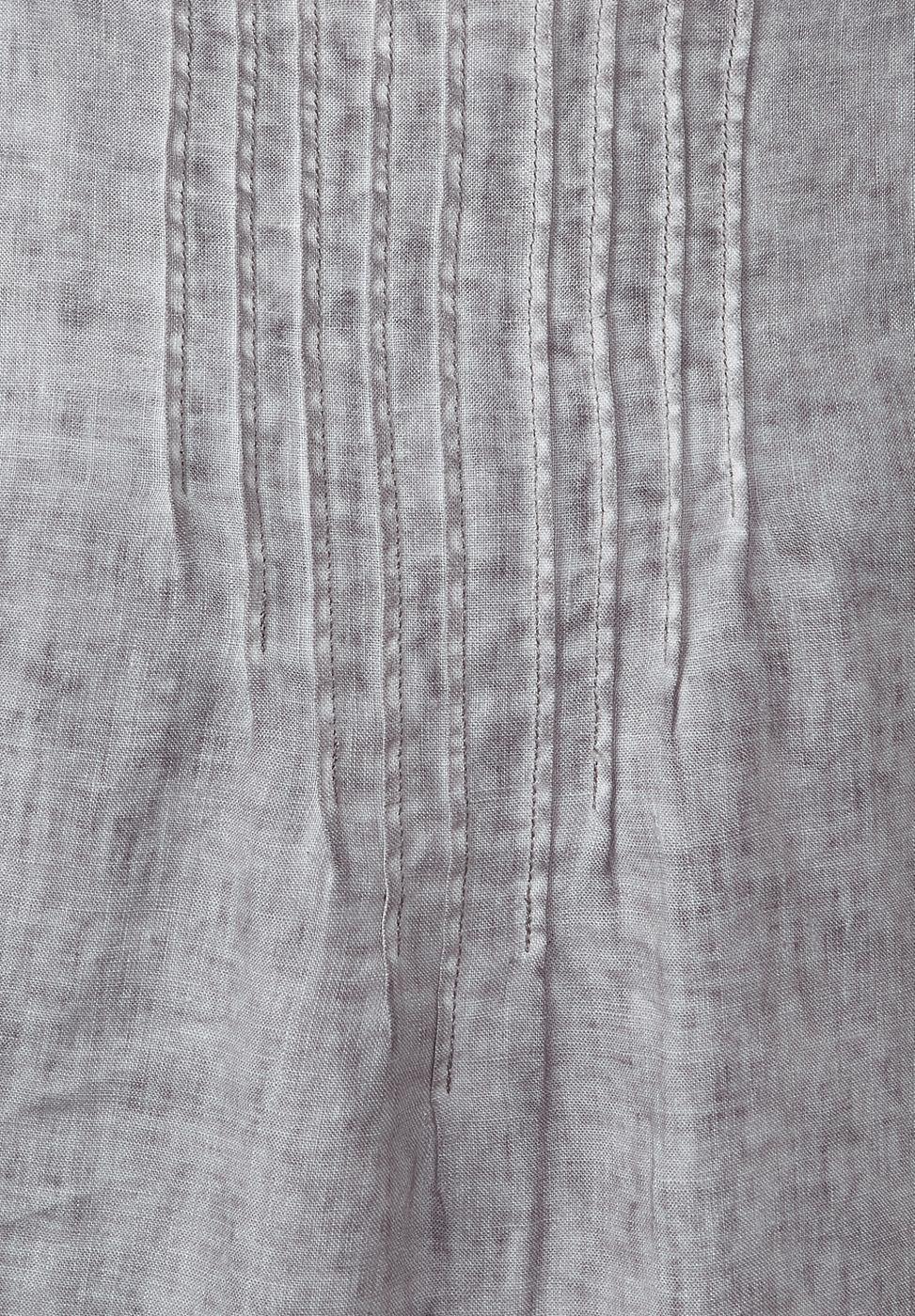 Street One Linnen vintage wash-jurk grijs