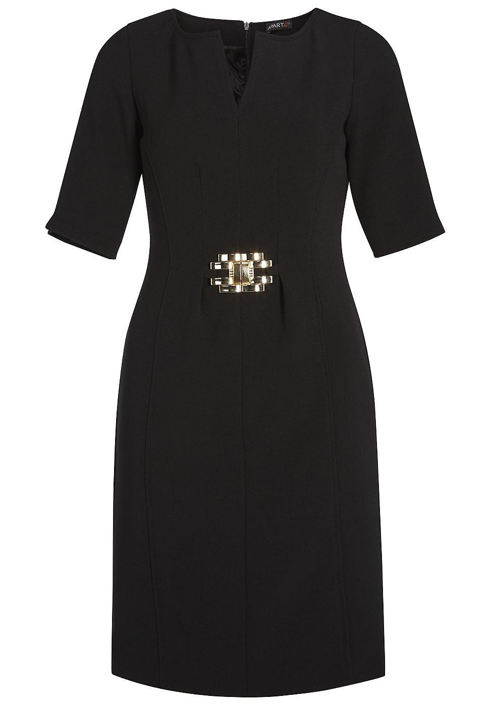 Apart Elegante jurk zwart