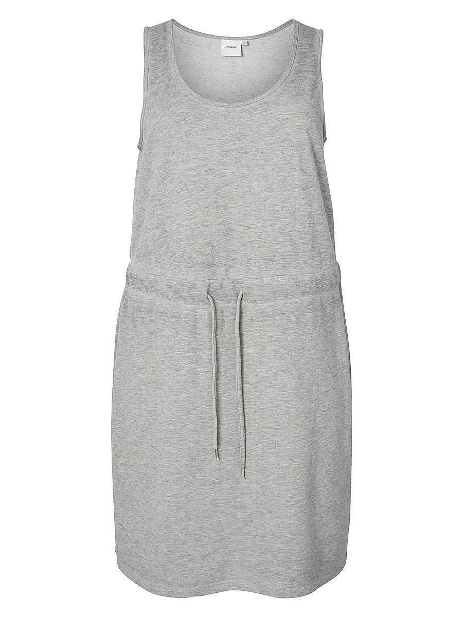Junarose jersey jurk grijs