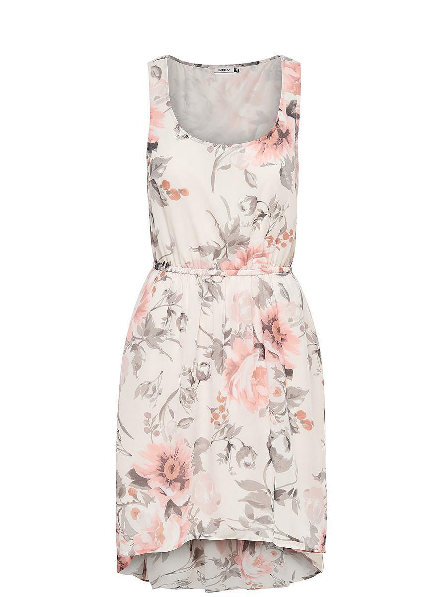 ONLY Korte Mouwloze jurk wit