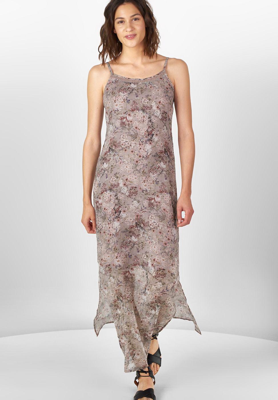 Street One jurk met bloemenprint Saskia roze