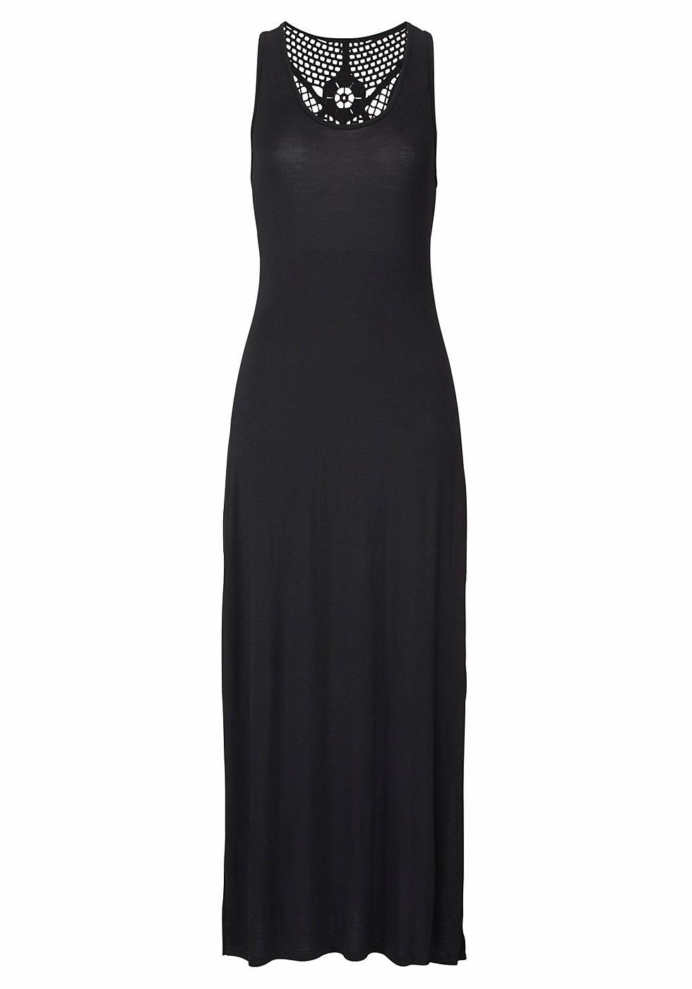s.Oliver maxi-jurk zwart