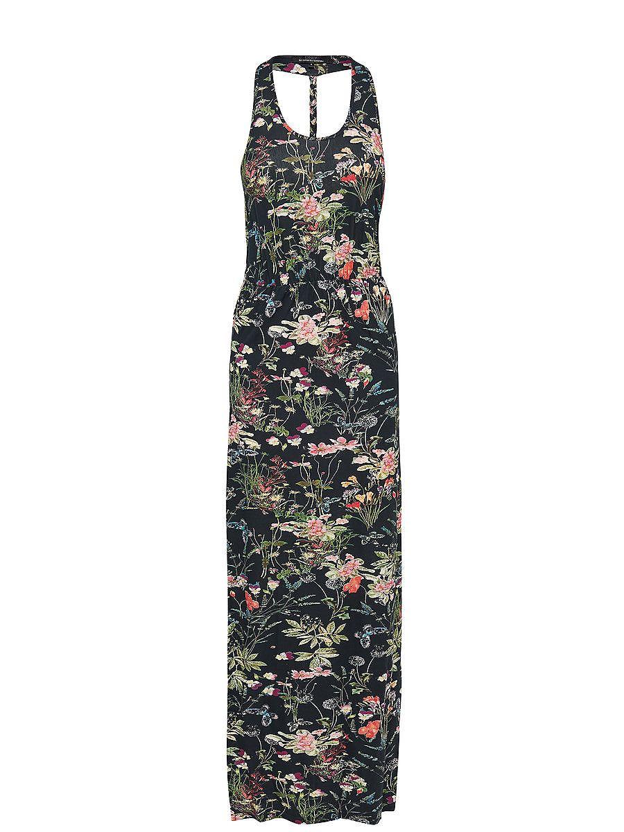 ONLY Print Maxi jurk blauw
