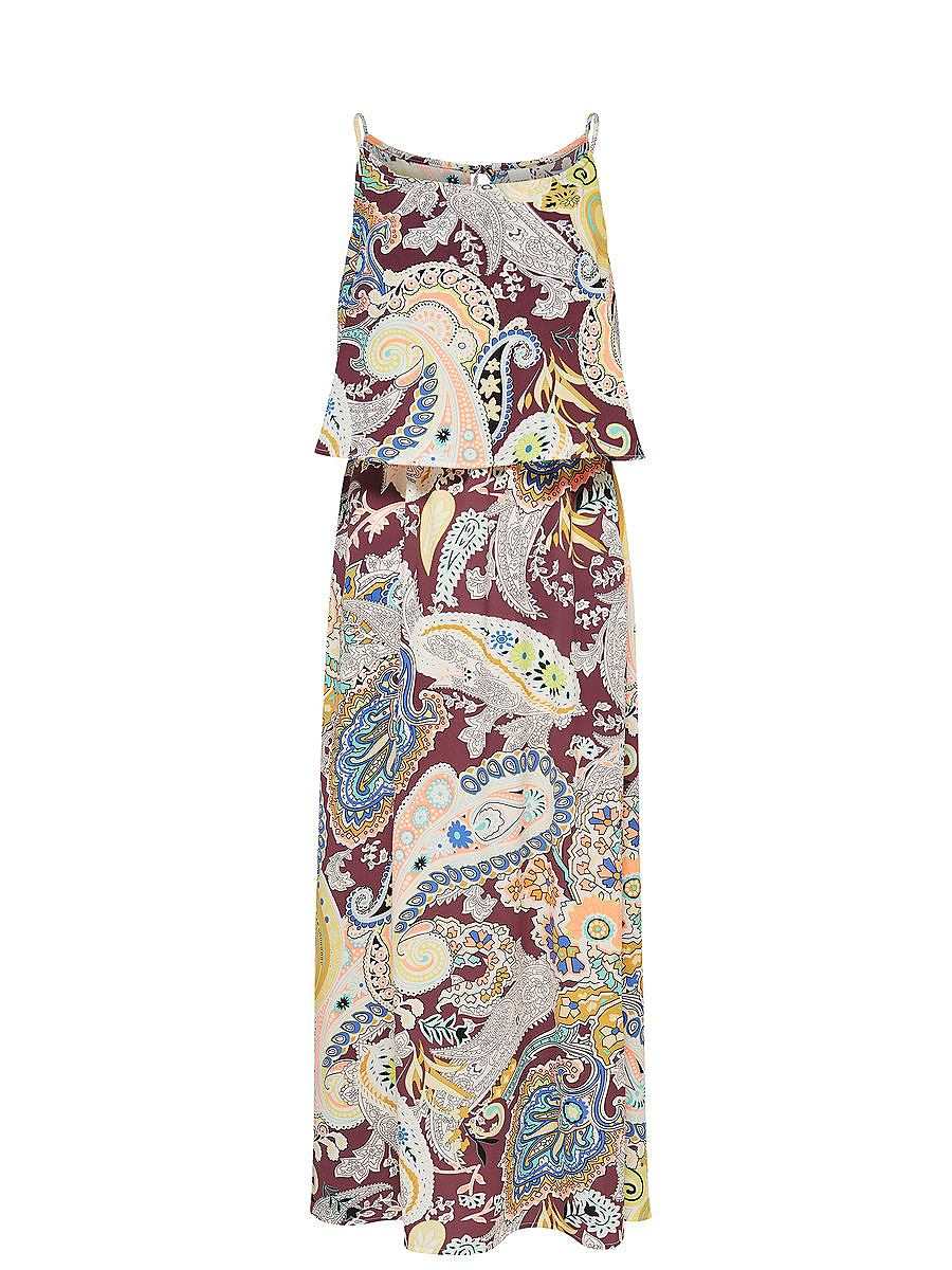 ONLY Print Maxi jurk paars