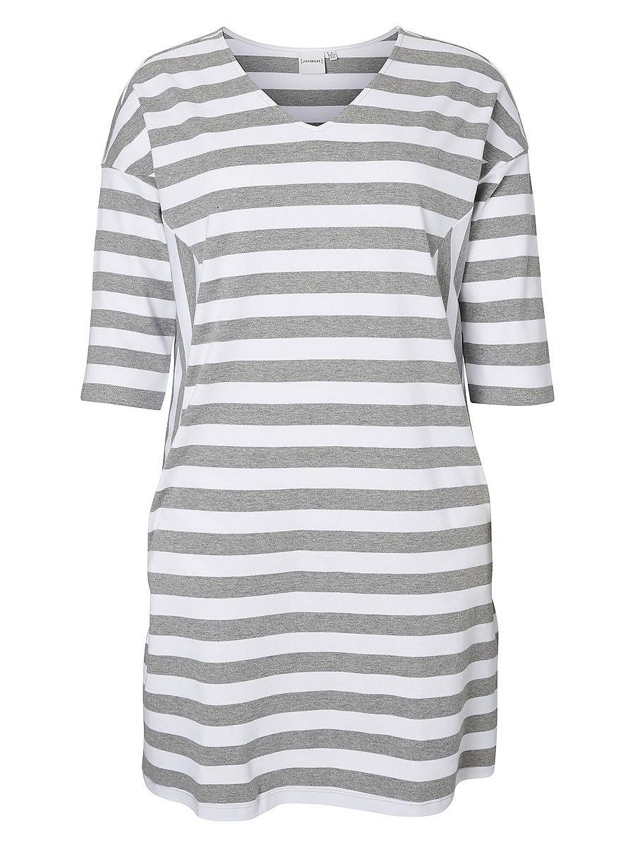 Junarose Aansluitende jurk grijs