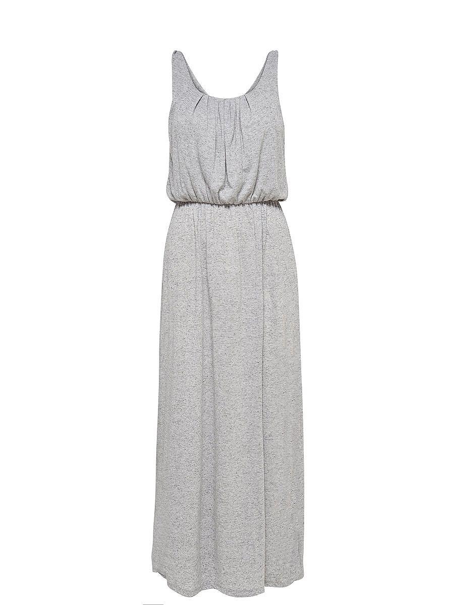 ONLY Lange Mouwloze jurk grijs