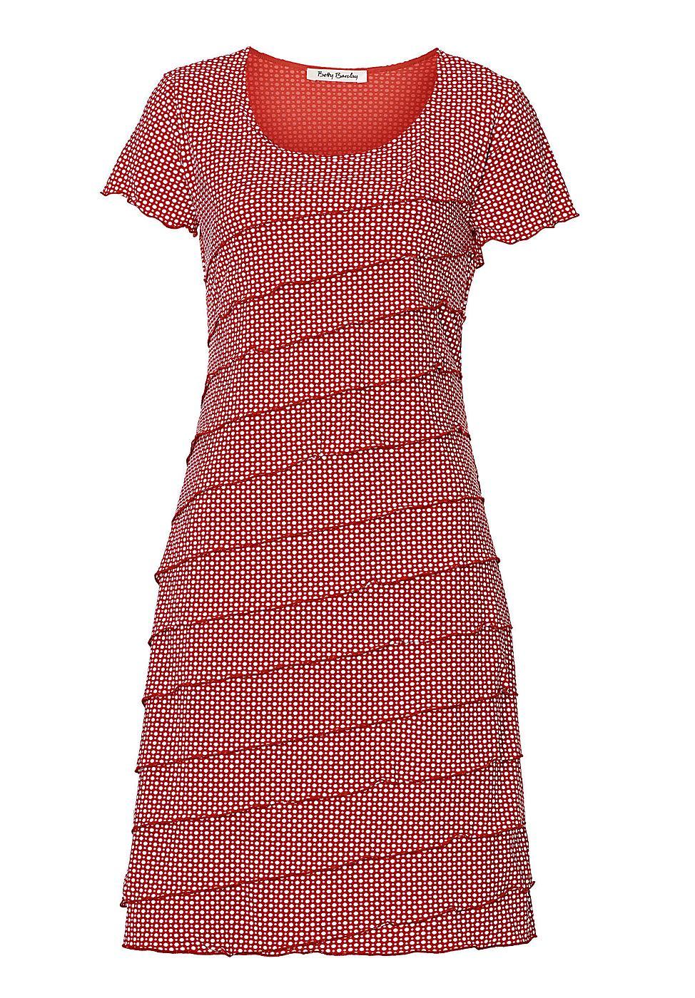 Betty Barclay jurk rood