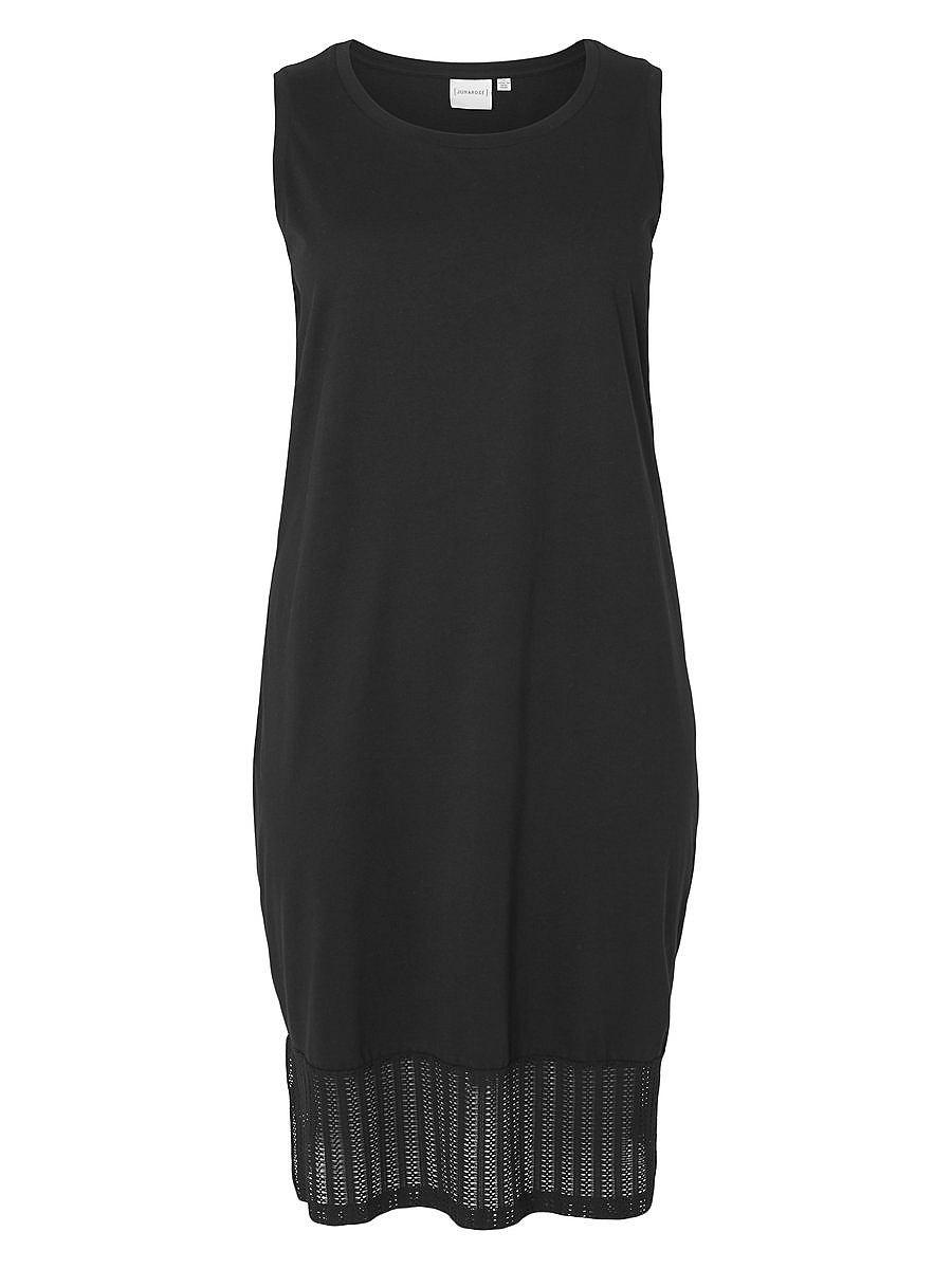 Junarose Midi jurk zwart