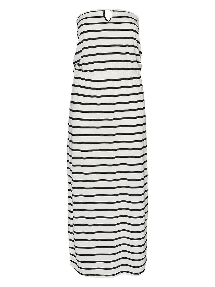 Junarose Maxi jurk wit