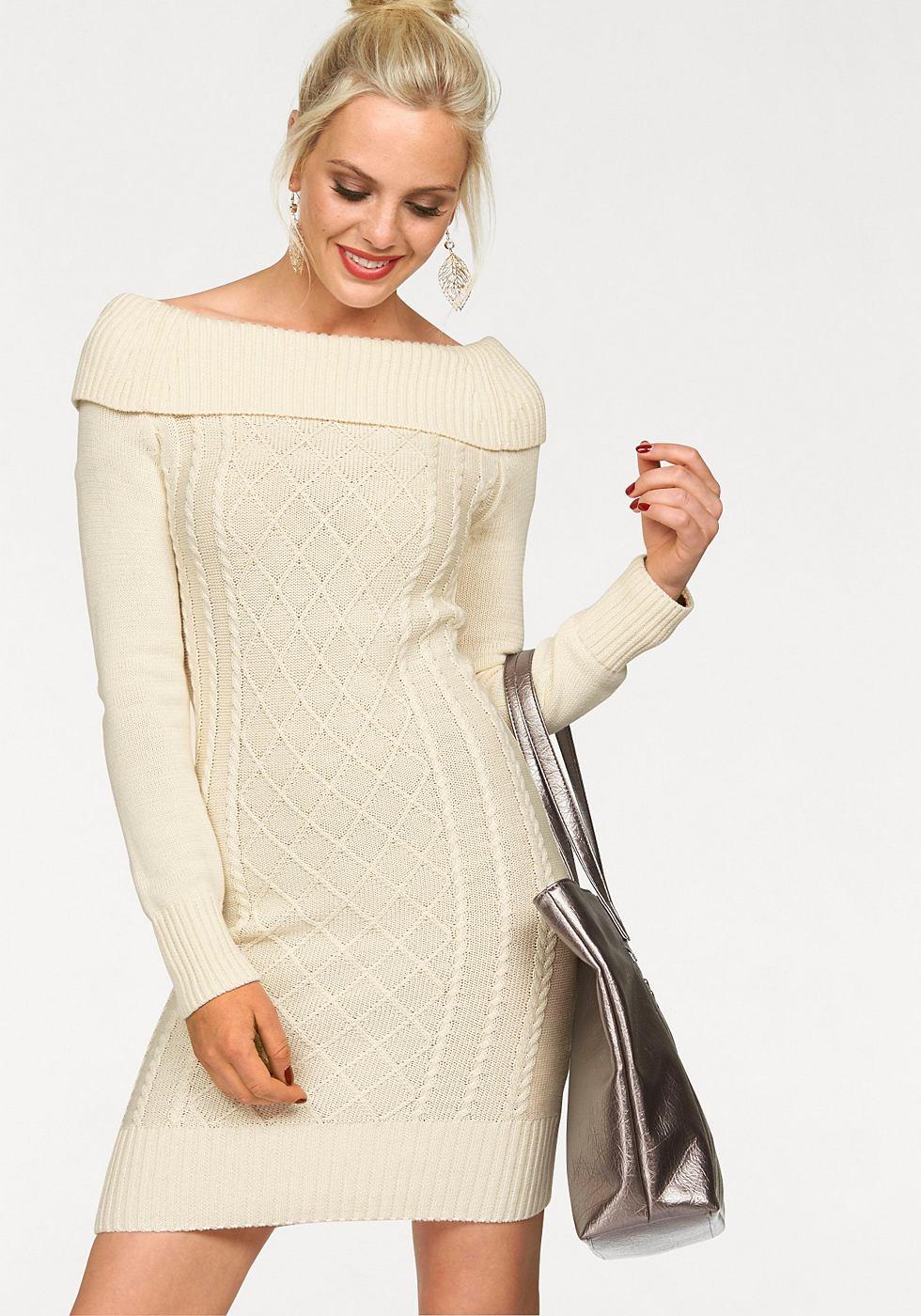 Melrose tricotjurk wit