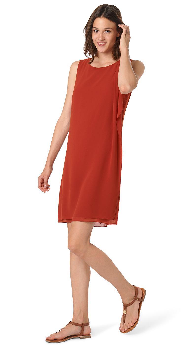 Tom Tailor jurk »Elegante zomerjurk« rood