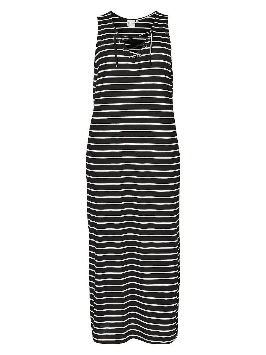 Junarose Maxi jurk zwart