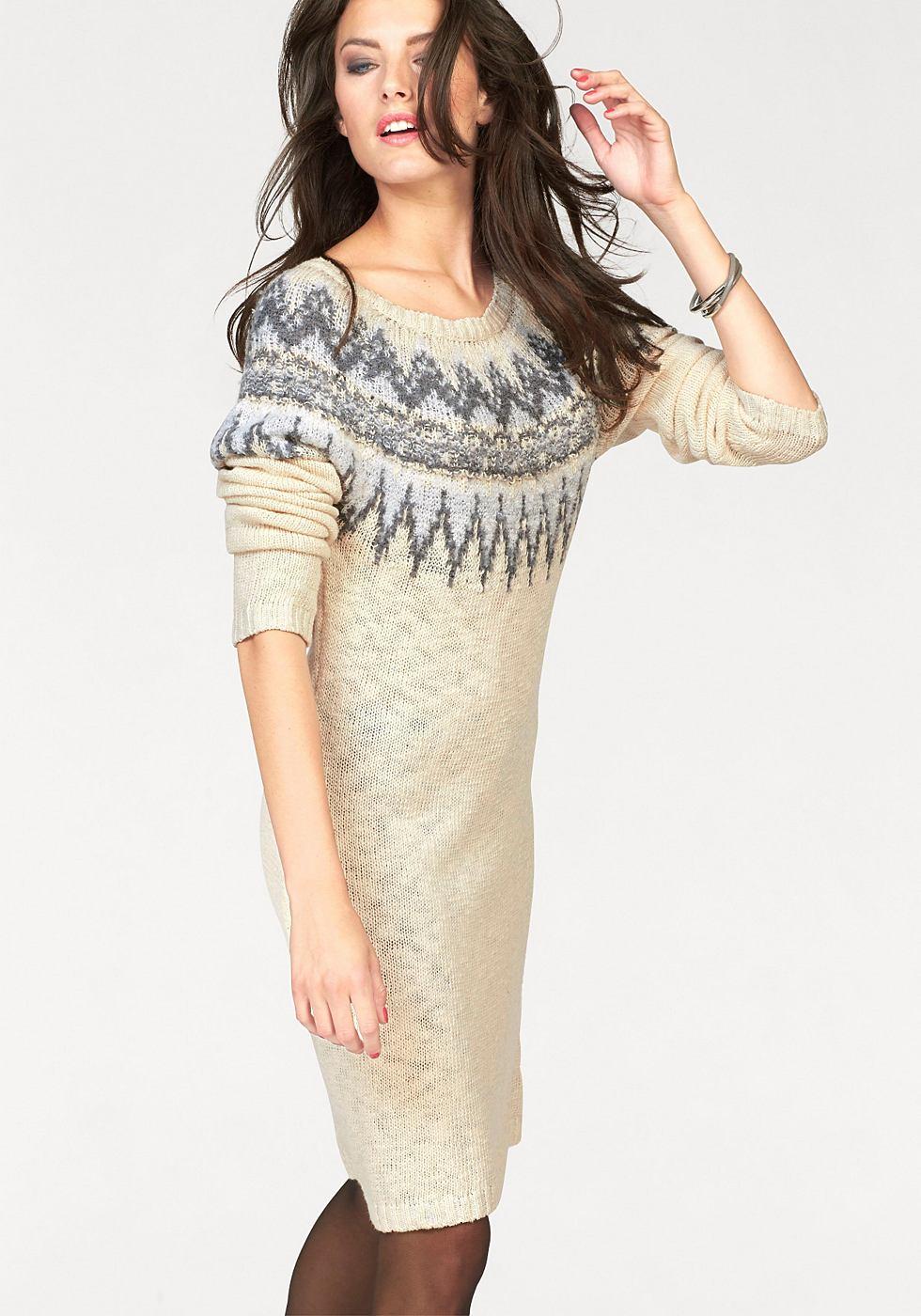 Aniston tricotjurk wit