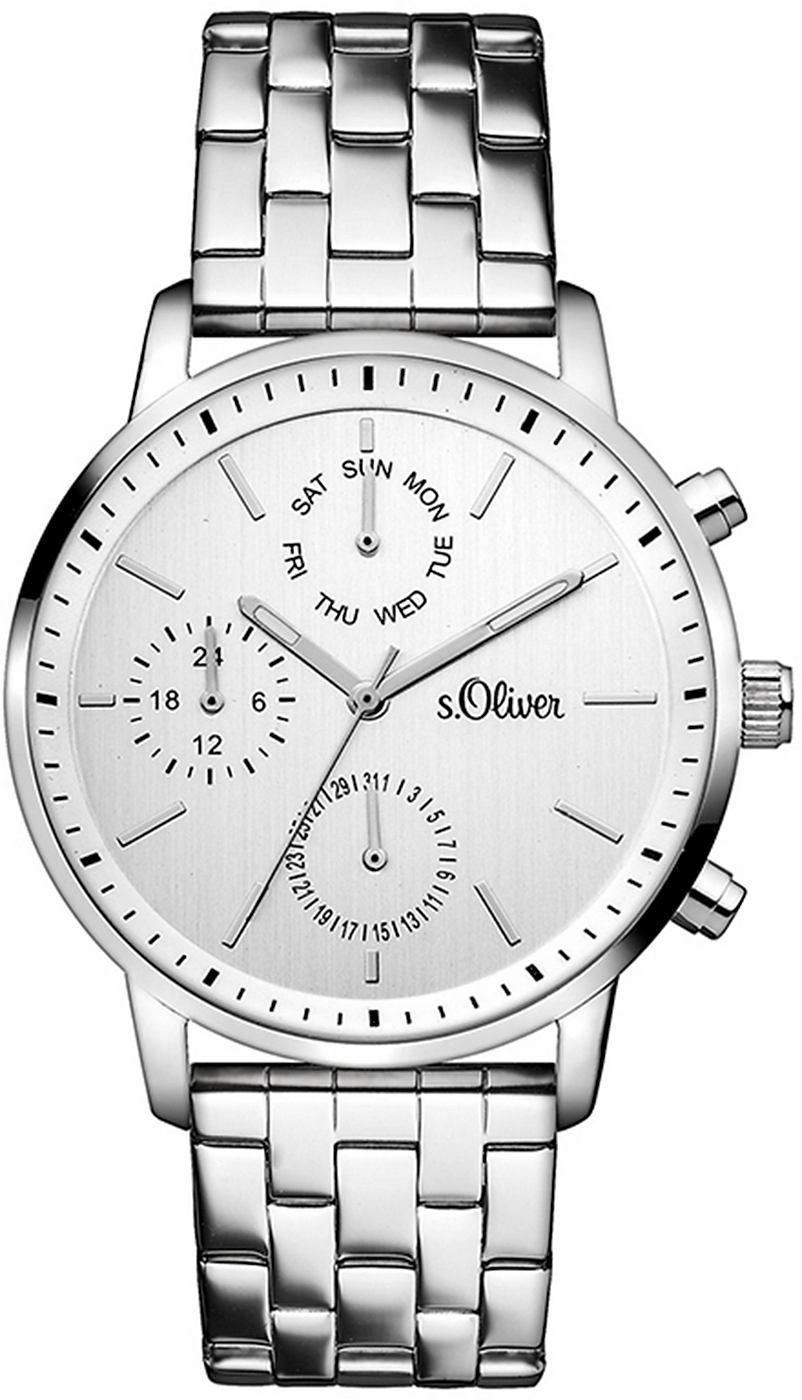 S.OLIVER RED LABEL multifunctioneel horloge »SO-3187-MM«