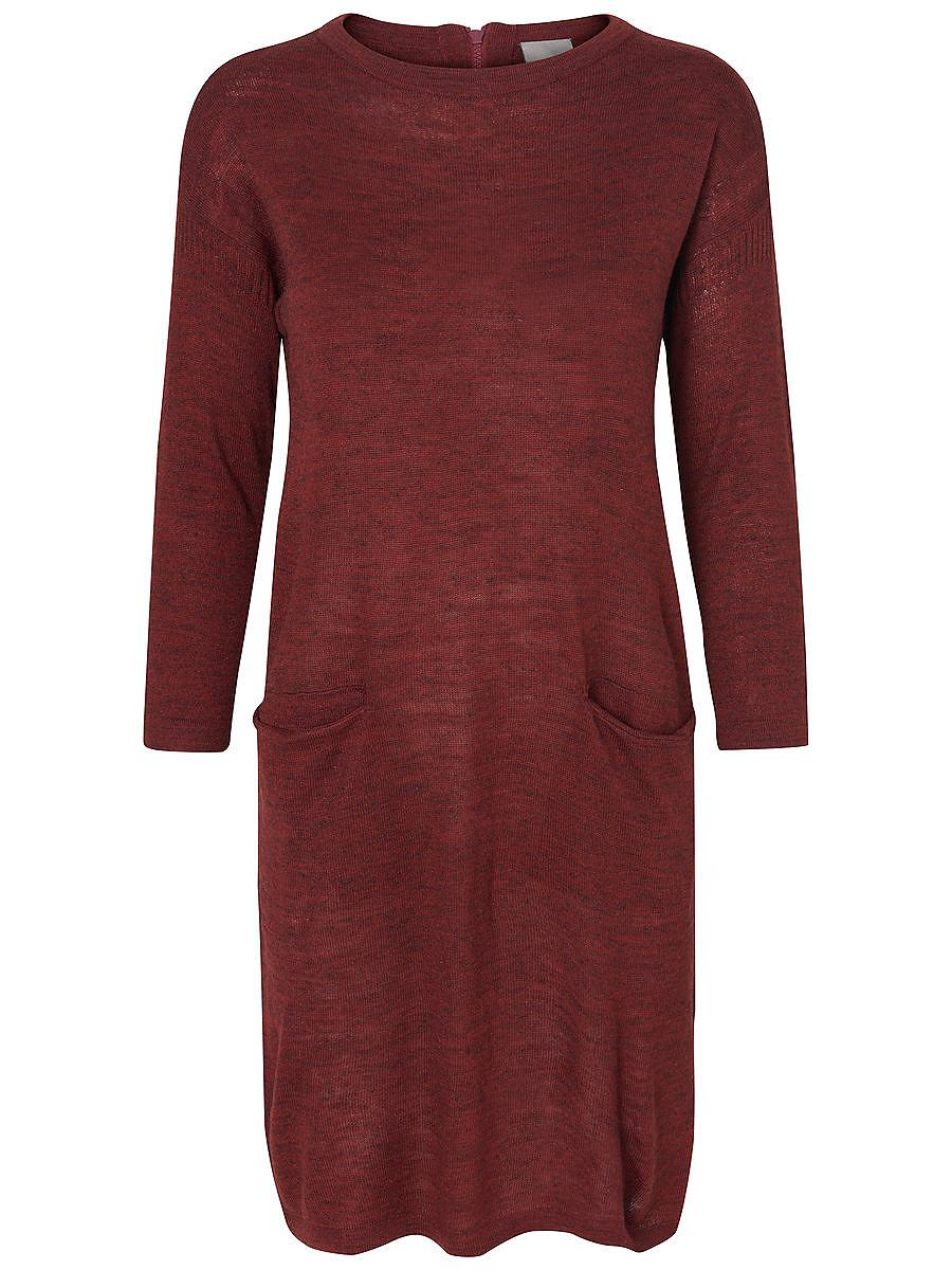 Vero Moda gebreide Korte jurk bruin