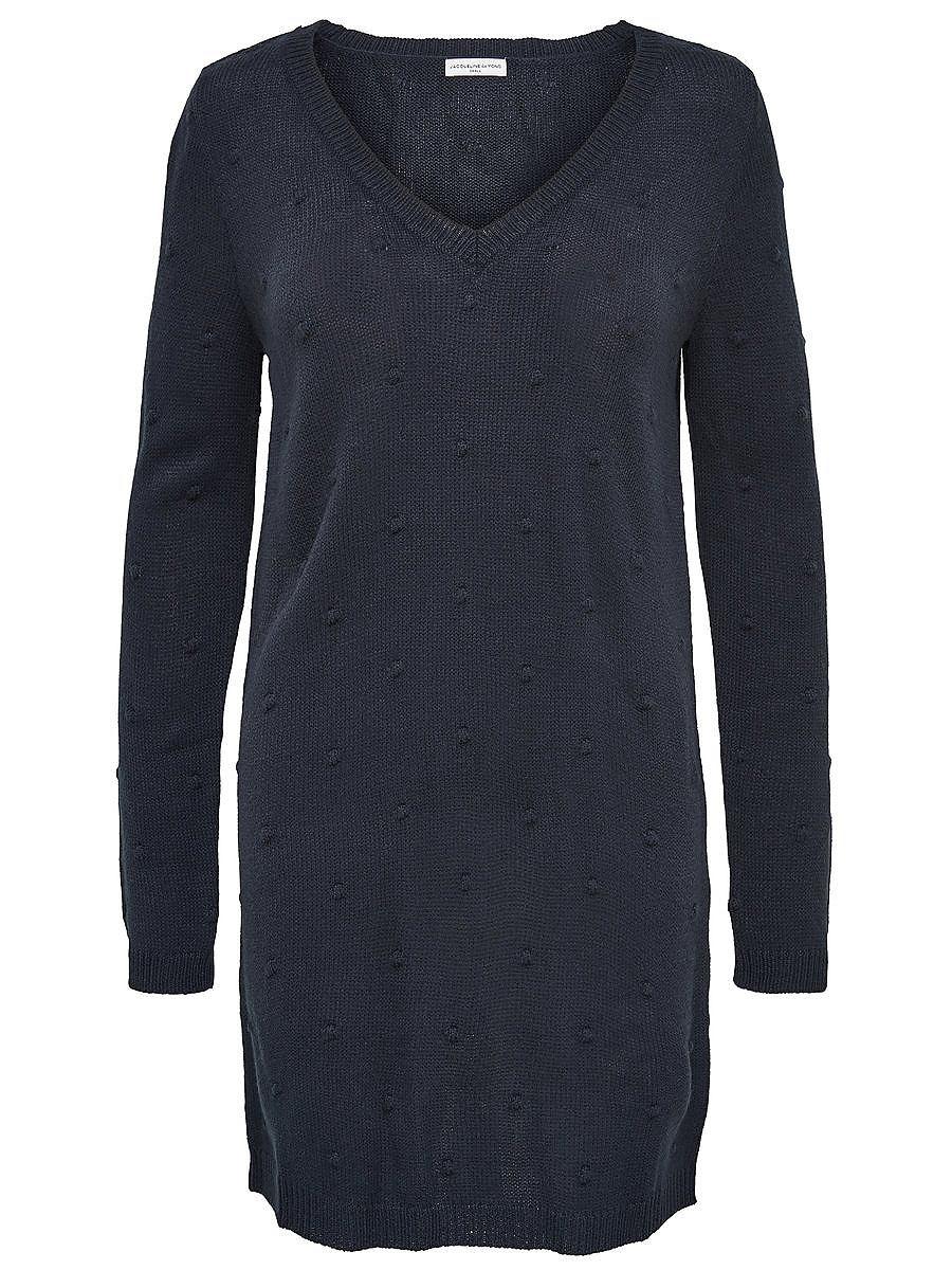 ONLY Effen jurk grijs