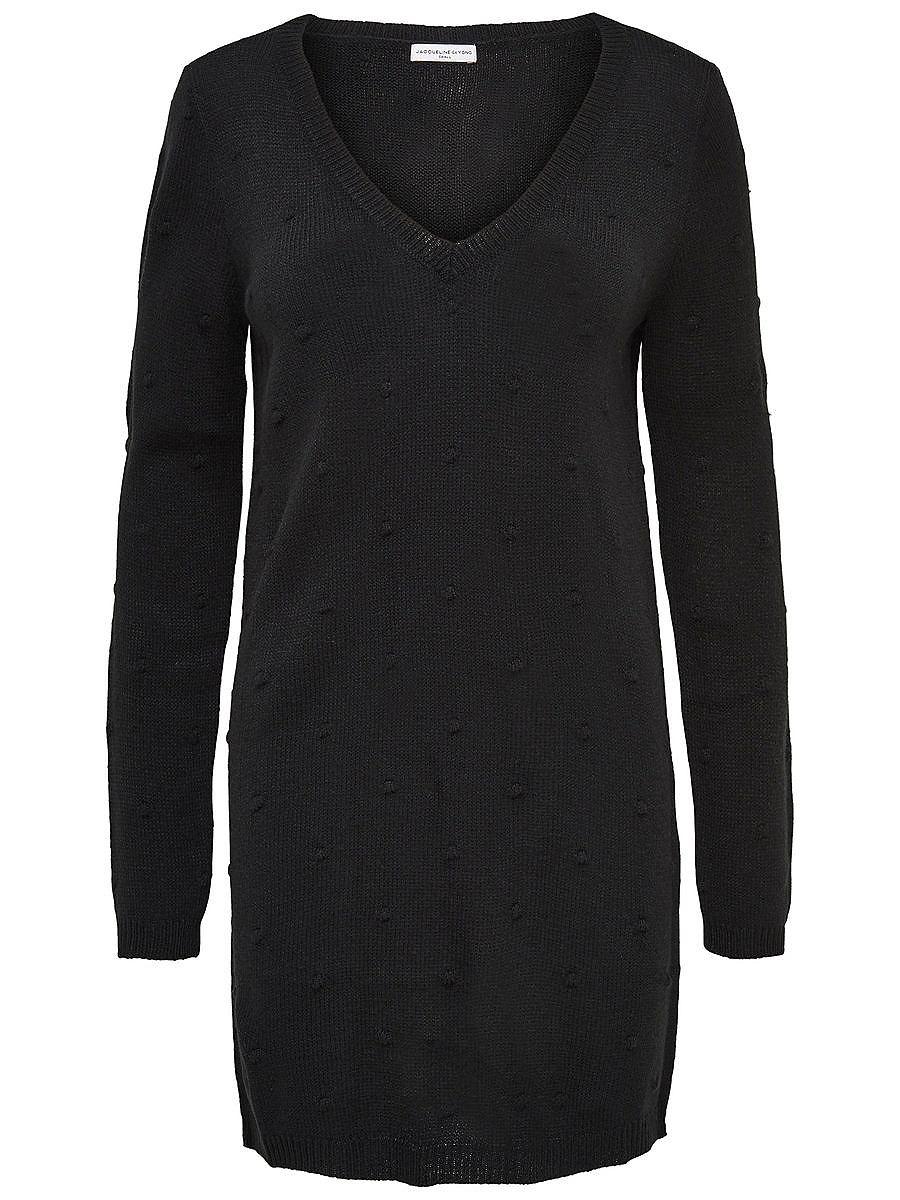 ONLY Effen jurk zwart