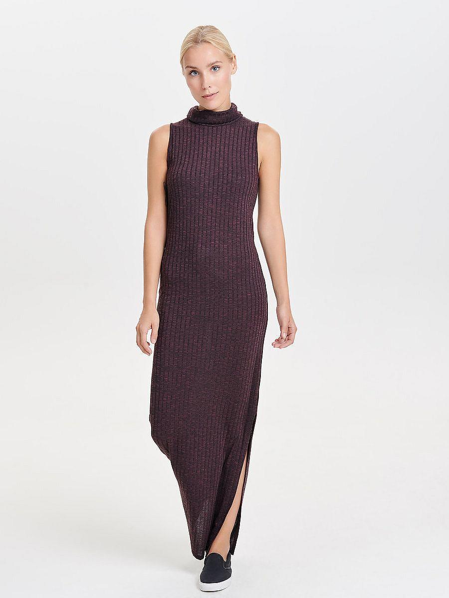 ONLY Mouwloze Maxi jurk paars