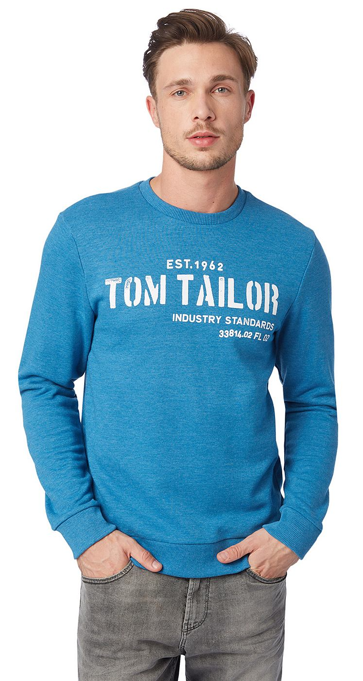 TOM TAILOR Sweatshirt »logo sweater«