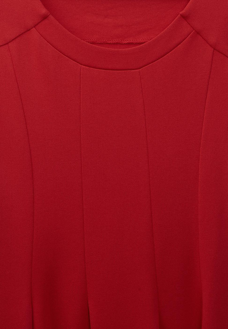 Street One Zachte jersey jurk Eva rood