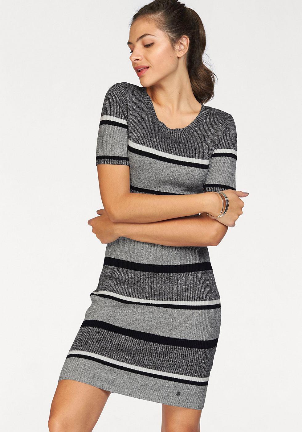 AJC tricotjurk grijs