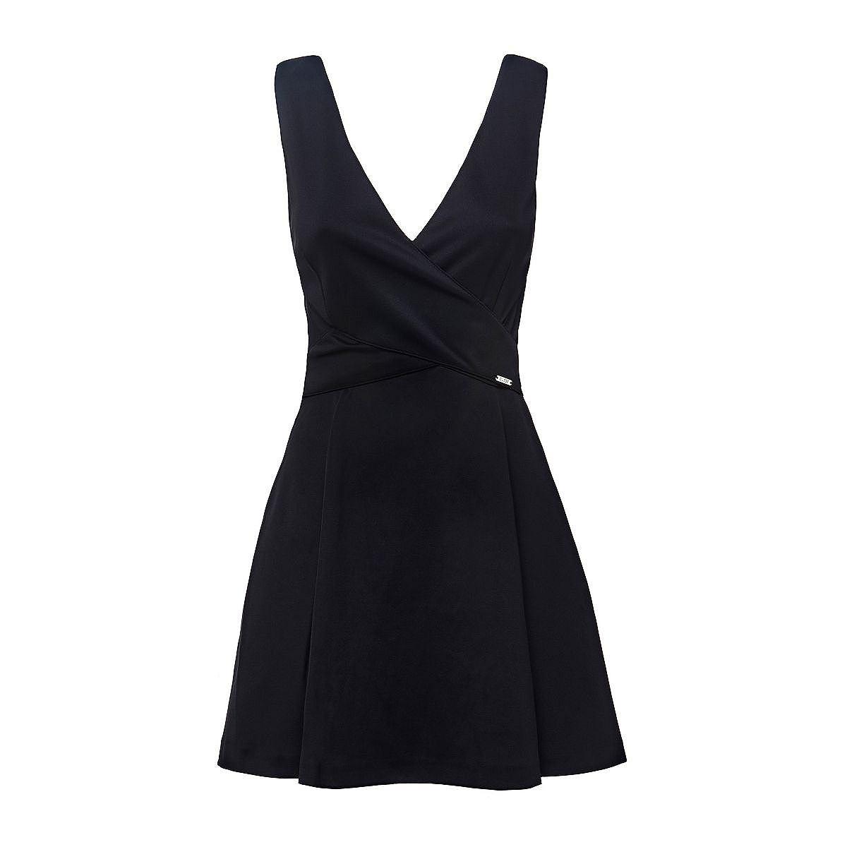 Guess jurk met cirkelrok zwart
