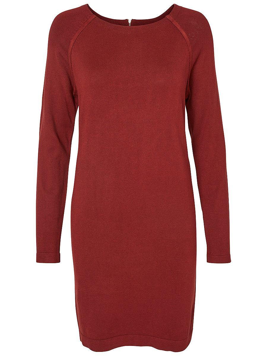 Vero Moda Lange Mouwen jurk bruin