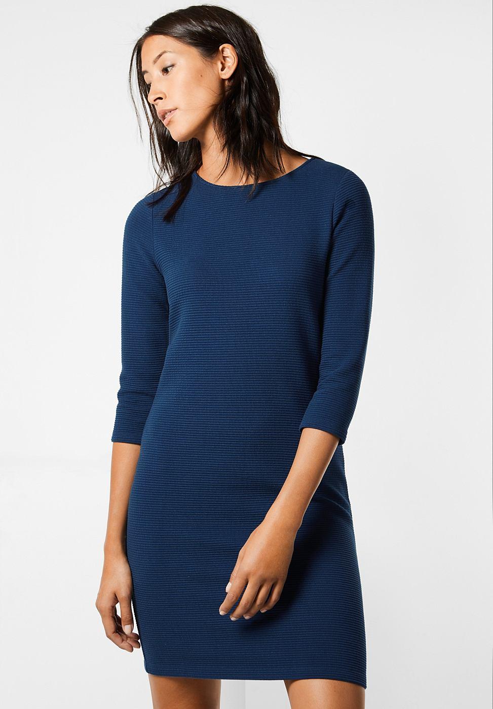 Street One jurk met structuur Ilia blauw