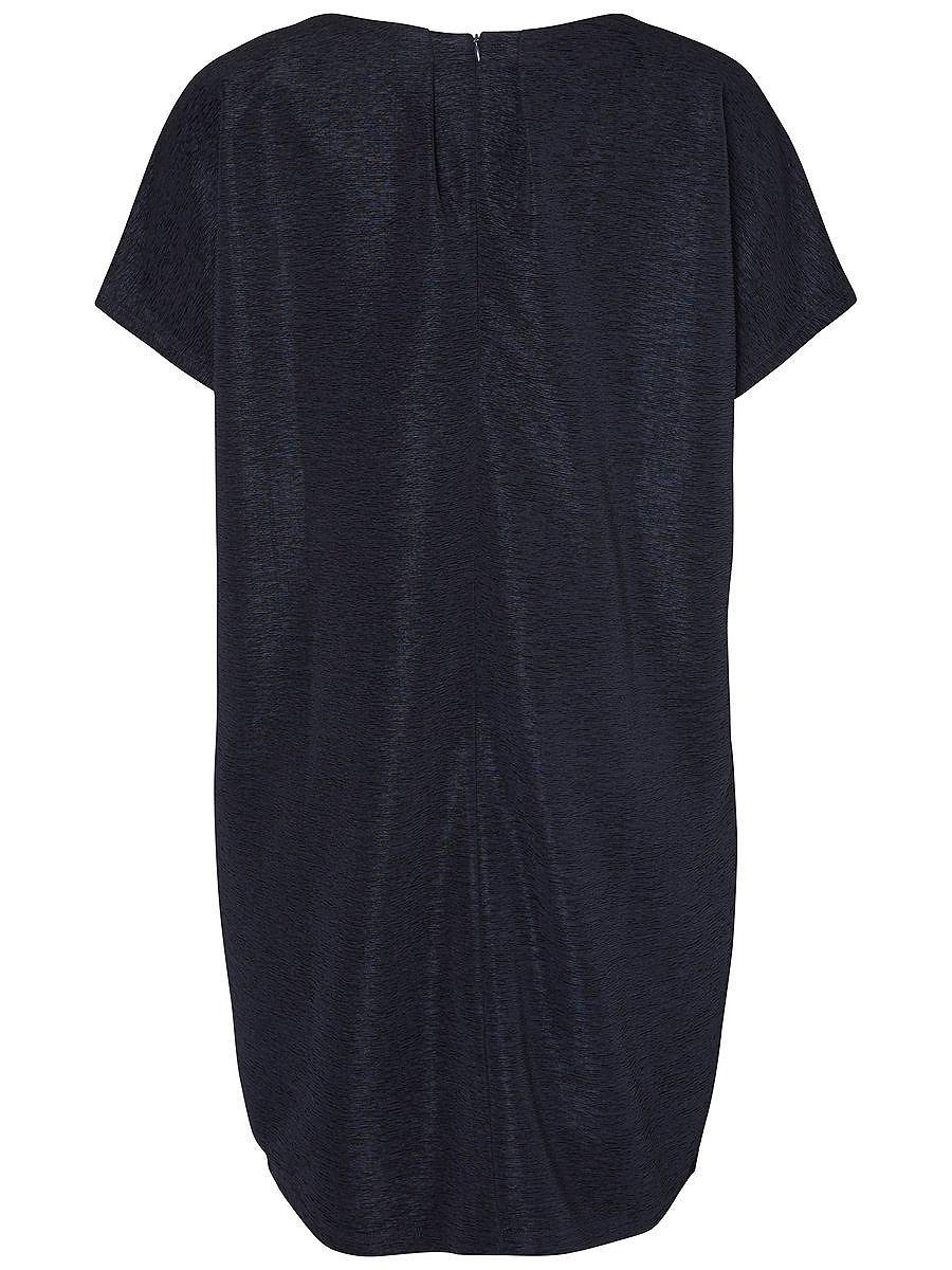 Junarose Ruimvallende jurk blauw
