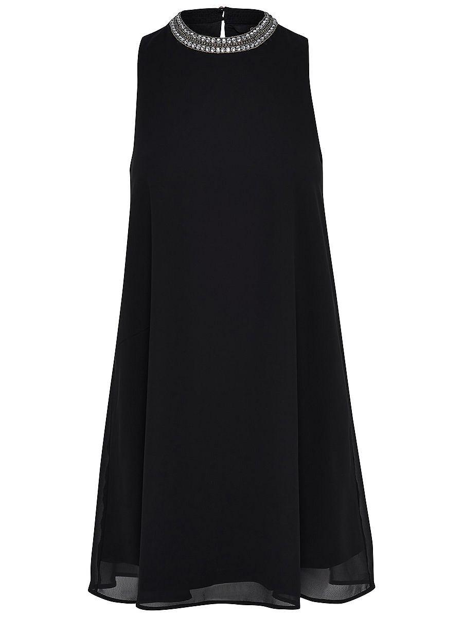 ONLY A-vormige Mouwloze jurk zwart