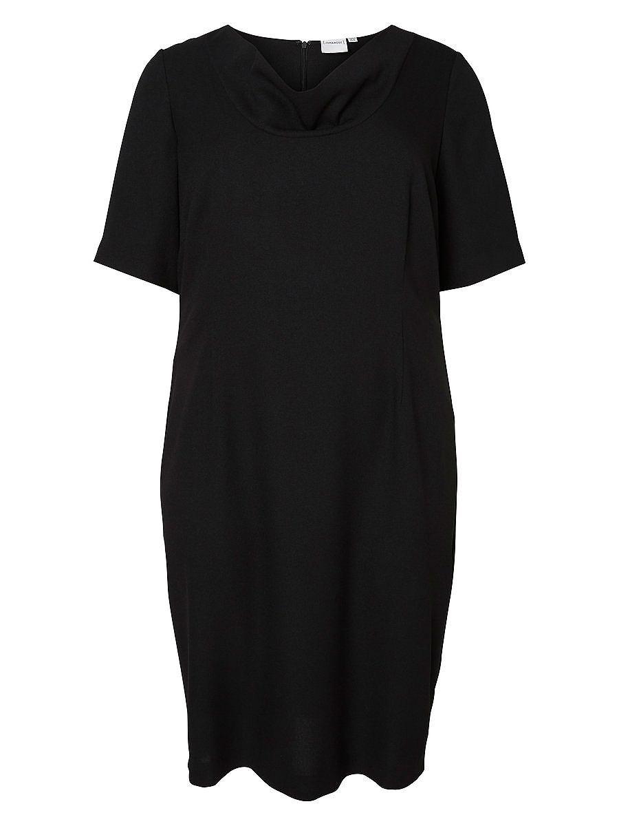 Junarose 2/4-mouw jurk zwart