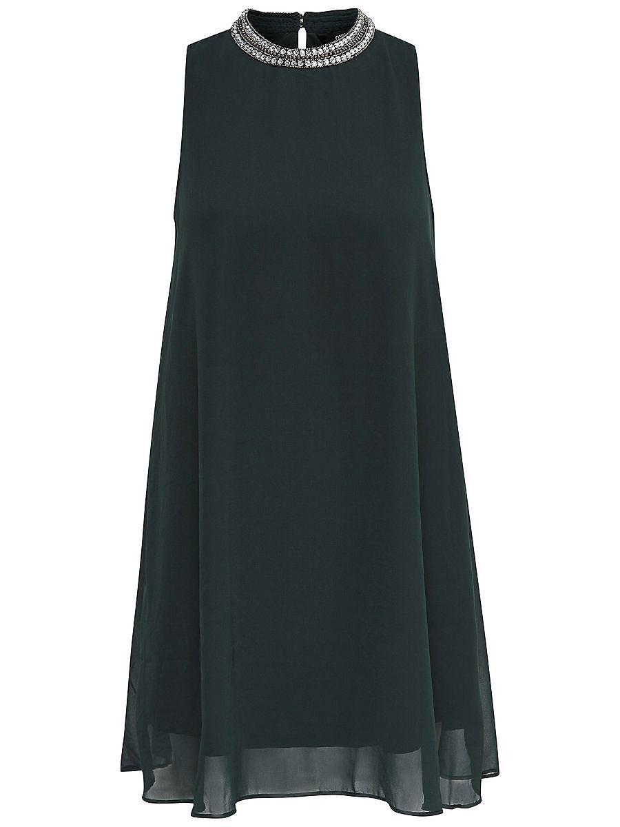 ONLY A-vormige Mouwloze jurk groen