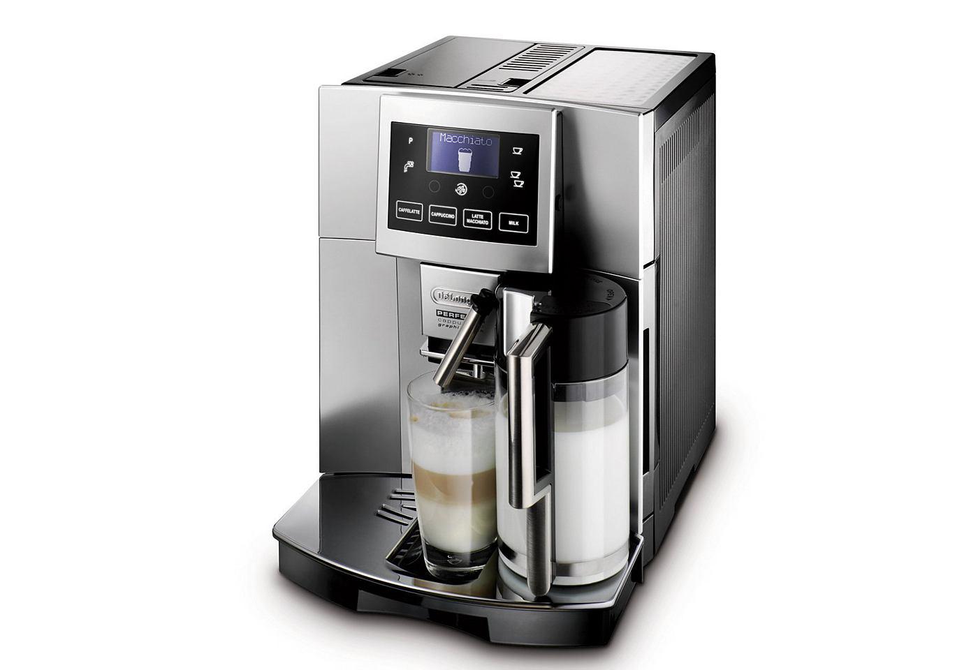 koffiezetapparaat met cappuccino kopen online. Black Bedroom Furniture Sets. Home Design Ideas