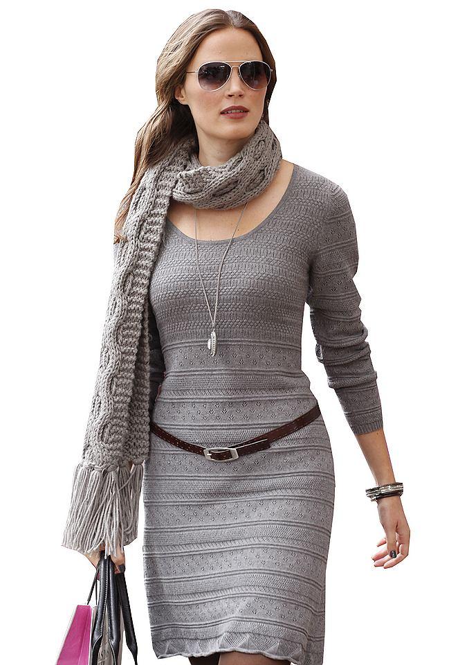 NU 21% KORTING: Tricotjurk Aniston grijs