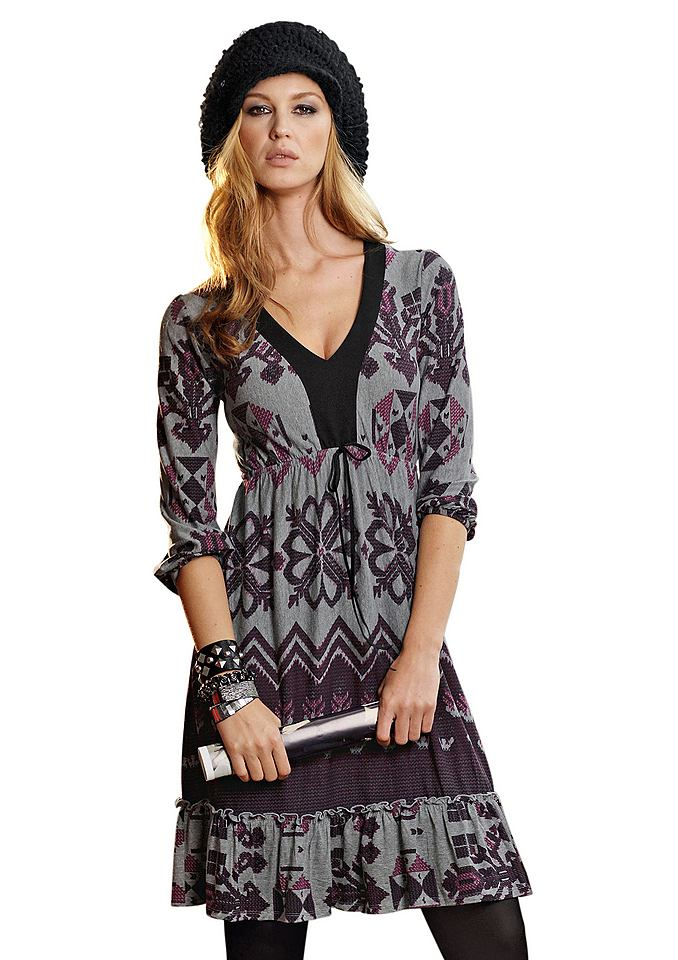 NU 21% KORTING: jurk Aniston grijs