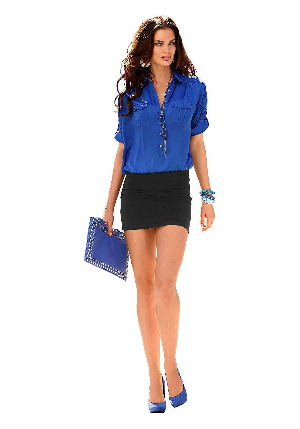 Laura Scott jurk blauw