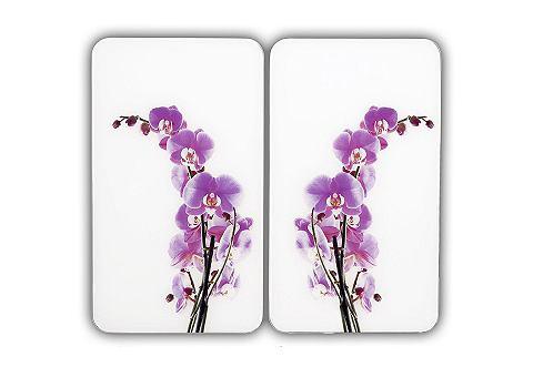 WENKO Afdekblad voor kookplaat Orchidee