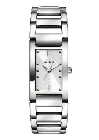 s.Oliver SO2802MQ Horloge zilverkleurig