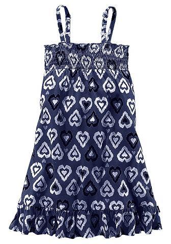 PETITE FLEUR 2-in-1 jurk met hartjesprint